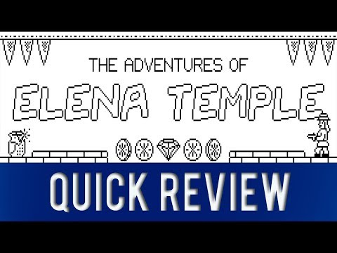 The Adventures of Elena Temple Nintendo Switch Review