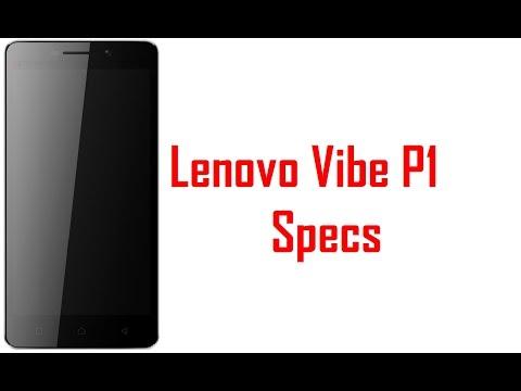 Lenovo Vibe P1 Specs & Features - YouTube