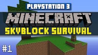 Minecraft PS3 SKYBLOCK Survival #1 with Vikkstar (Minecraft Playstation 3 Edition Sky Block)