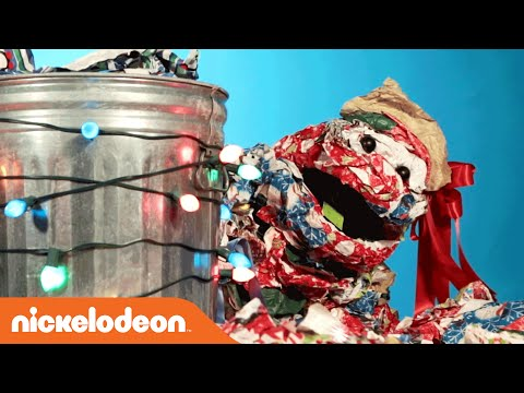 Randall the Wrapping Paper Monster (Karaoke Version) | Nick