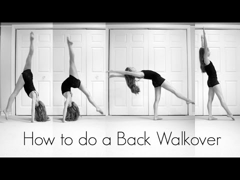 How To Do A Back Walkover