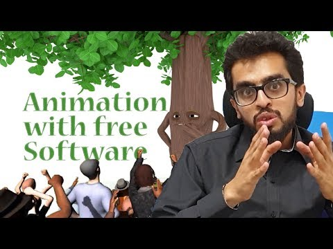 How To Make Cartoon With Free Software | Tutorial For Animation In Hindi/Urdu | HDsheet