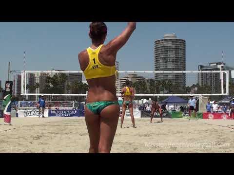 2016 ASICS WSOBV Long Beach Moiseeva & Syrtseva RUS vs  Navarro & Ribera ESP