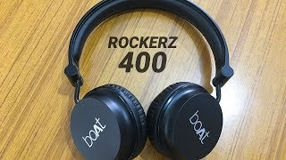 Boat Rockerz 400 Headphones Review with Pros amp Cons Hindi