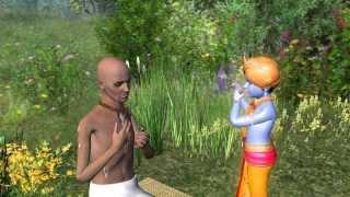 Bilvamangala Thakur 3D-Animation