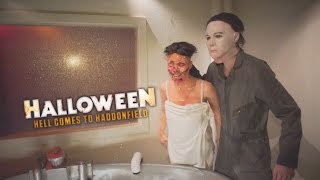 Halloween Hell Comes to Haddonfield Maze at Halloween Horror Nights 2016 Universal Studios Hollywood