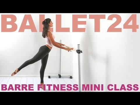 Ballet Workout: Barre Fitness Mini Class