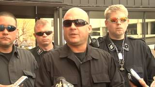 National Socialist Movement holds rally in Toledo