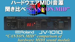 canyon mid for roland jv 1010