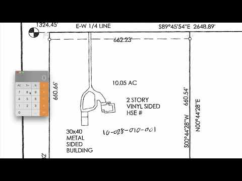 Google Earth: How To Use Headings And Bearings On Survey For Property Boundaries - Conversion