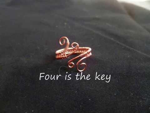 Simple Basic Woven Wire Ring - Tutorial