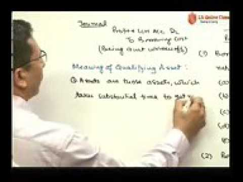 New Accounting Standard 16   Borrowing Cost CA IPCC Accounts Group 2 By CA Par