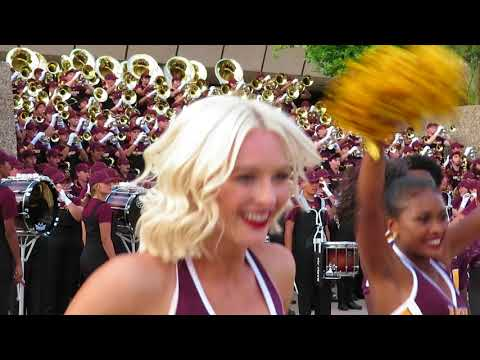 ASU Sun Devil Marching Band - Concert on the Steps 9/1/2018