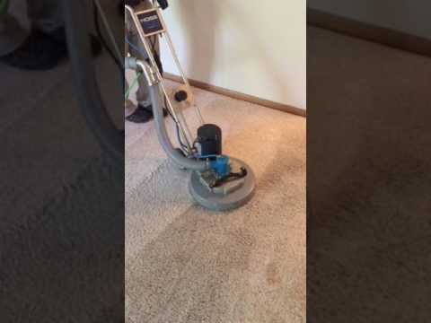 Rotary jet extraction carpet cleaning in Kansas City