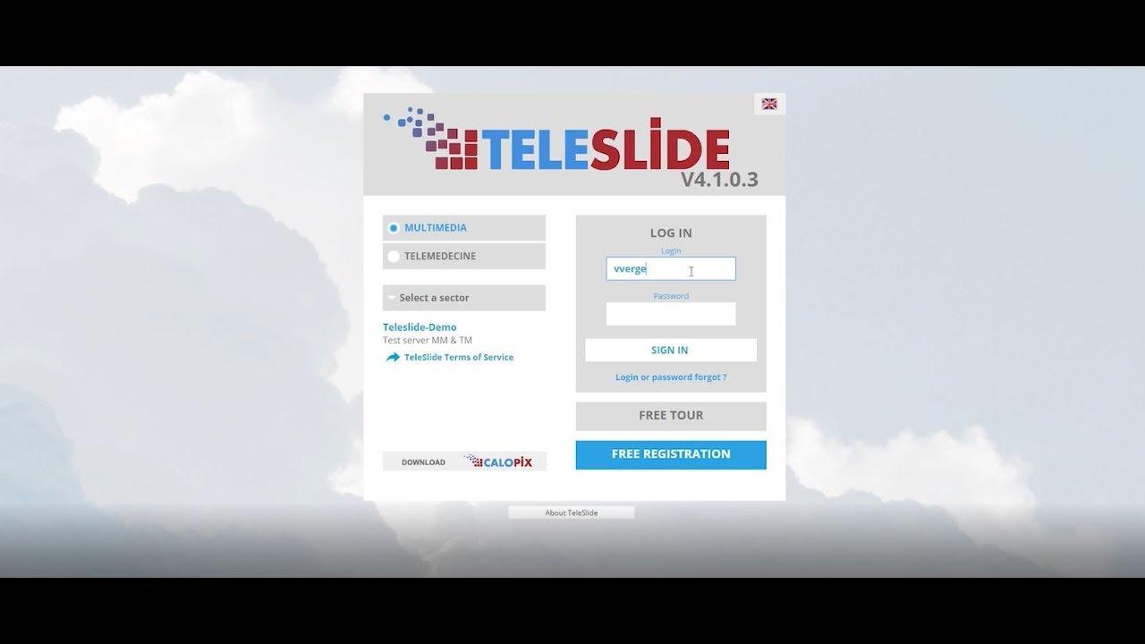 TeleSlide TeleMedicine - Online pathology consultations