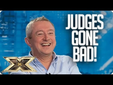 SO MEAN! Judges Behaving Badly   X Factor UK