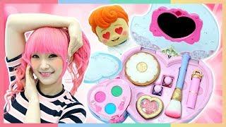 公主化妝盒打造夏日美美噠出遊妝容 | 凱利和玩具朋友們 | 凱利TV