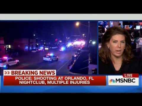 (MSNBC) Orlando Nightclub Shooting Initial Breaking News (4:30am)