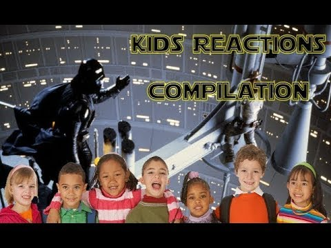 Kids React To I Am Your Father From Star Wars Episode V (Reactions Compilation)