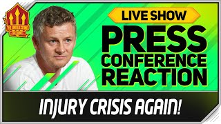 Solskjaer Press Conference Reaction! Manchester United vs Arsenal Man Utd News