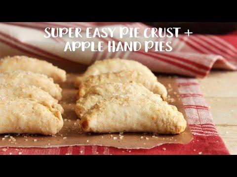 Super Easy Pie Crust + Apple Hand Pie Recipes {Gluten-Free, Grain-Free, Dairy-Free}