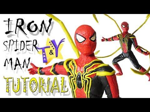 Как слепить железного человека паука Туториал Iron Spider-man Tutorial