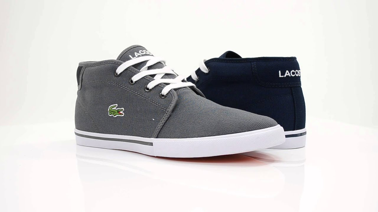 Lacoste Shoes Men Black
