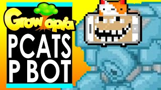 PCATS Quests for LEGENDARY BOT in GROWTOPIA!