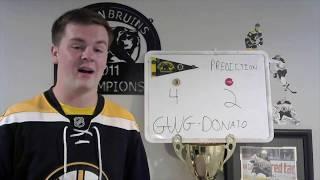 Bruins Season Opener Preview - Game 1 vs Capitals