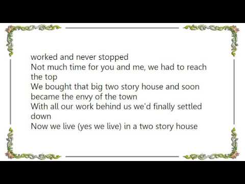 Two story house lyrics by george jones