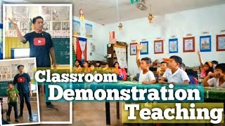 Actual Demonstration Teaching for Teacher-Applicants (Plus Demonstration Tips and Lesson Plan)