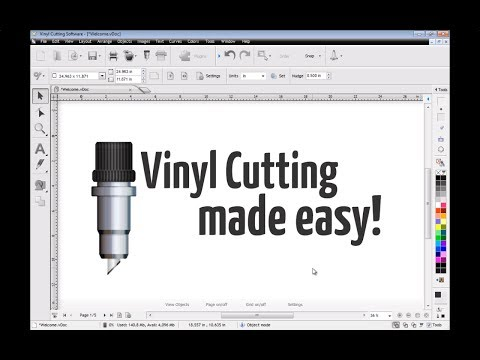SignMaster Cut Introduction - YouTube