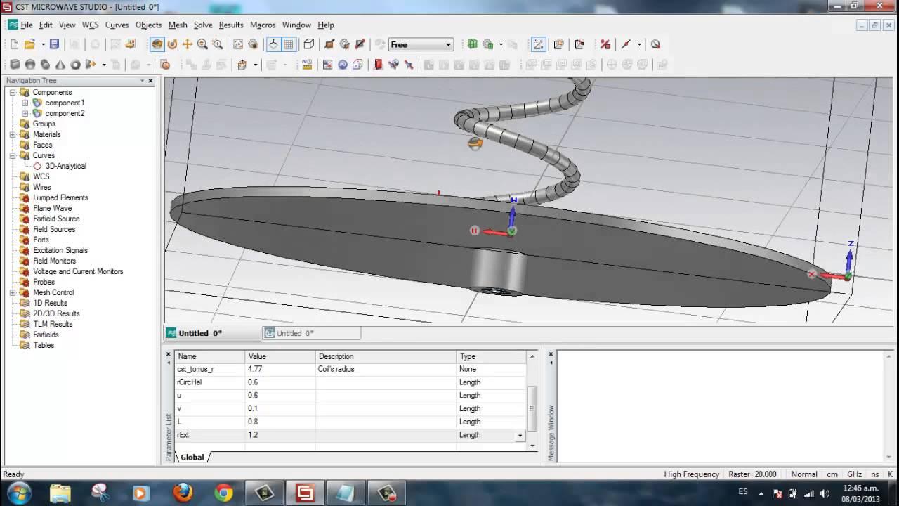 Cst antenna design tutorial