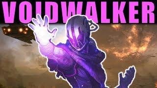 Destiny 2: ALL VOIDWALKER PERKS & ABILITIES! | Re-Made Warlock Subclass