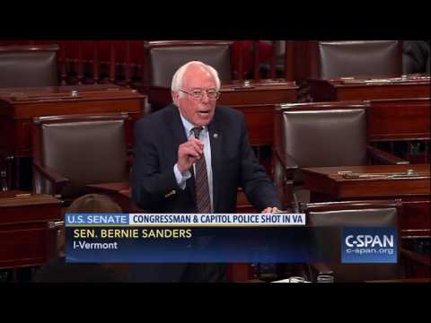 "Sen. Sanders: ""I condemn this action in the strongest possible terms."" (C-SPAN)"