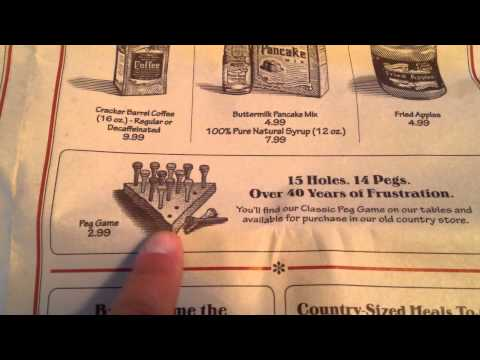 Cracker Barrel Menu Review