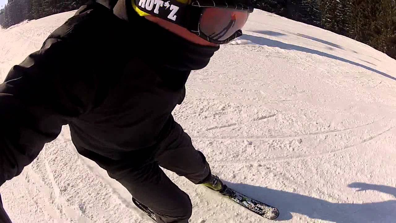 Test Snowblade Mini Ski Salomon Short Kart Youtube