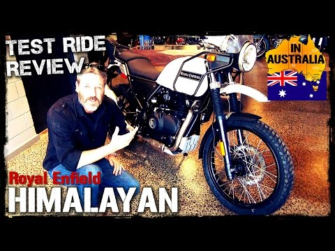 Royal Enfield Himalayan Australian Review