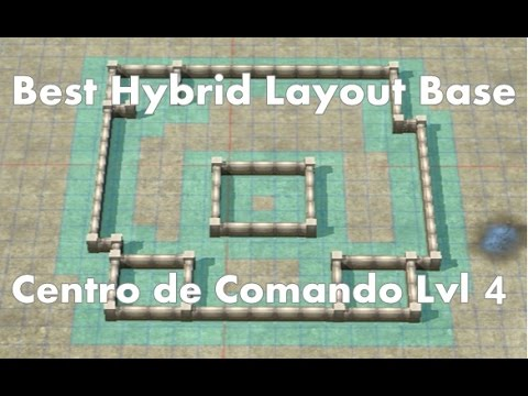 Call of Duty: Heroes - Command Center Level 4 - Best Hybrid Base ...