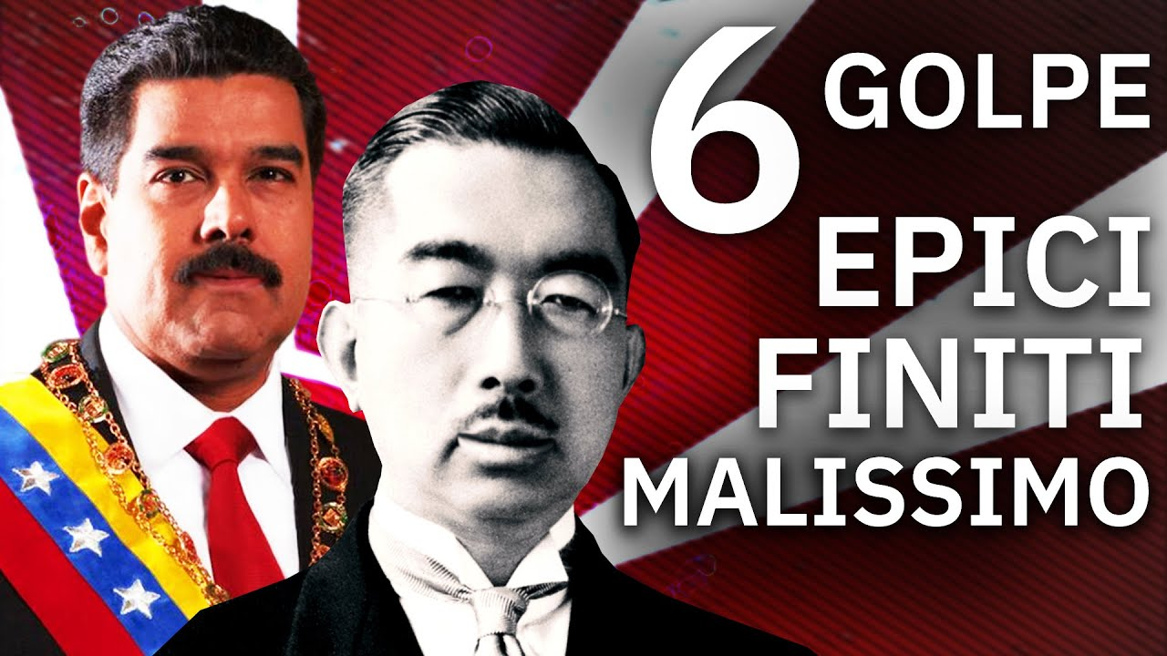 6 modi per fallire miseramente un Colpo di Stato