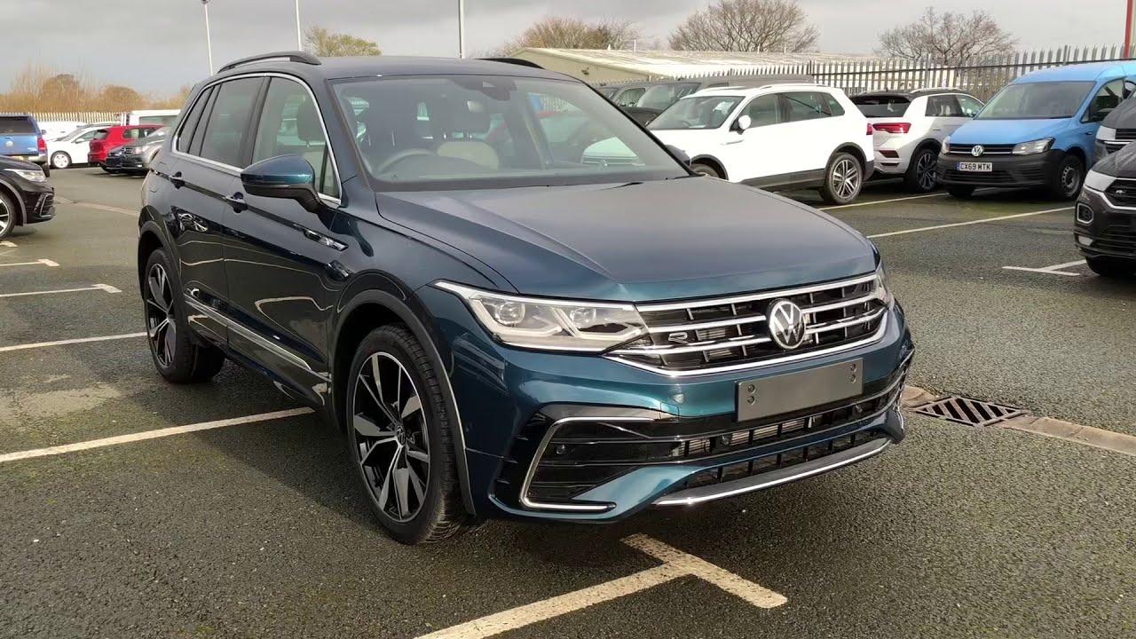 Volkswagen Tiguan 2.0TDI R-Line DSG Nightshade Blue New ...