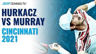 Hubert Hurkacz vs Andy Murray Highlights
