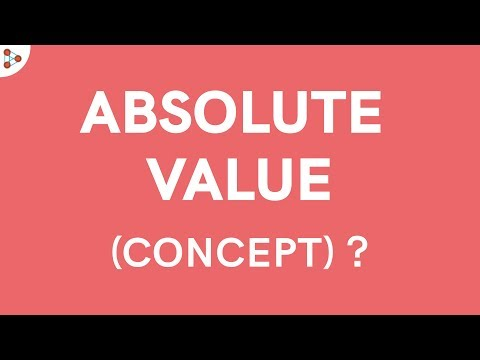 Concept of Absolute Value!
