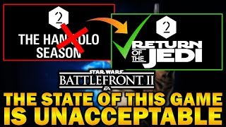 THE STATE OF THIS GAME IS UNACCEPTABLE! Star Wars Battlefront 2