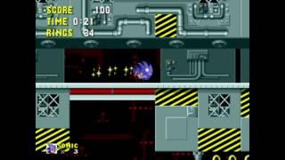 Sonic the Hedgehog - Scrap Brain 1: 0:34 (Speed Run)
