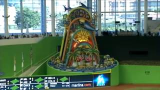 Marlins Park opens in Miami