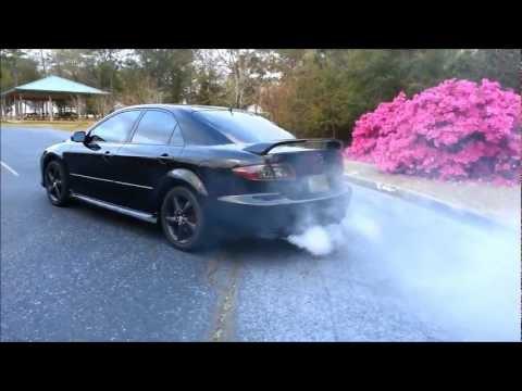 Mazda 6 Smoke Show -- Seafoam