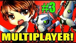 Portal 2 Co-op! Ep. 3 - Glados Is A Jerk!