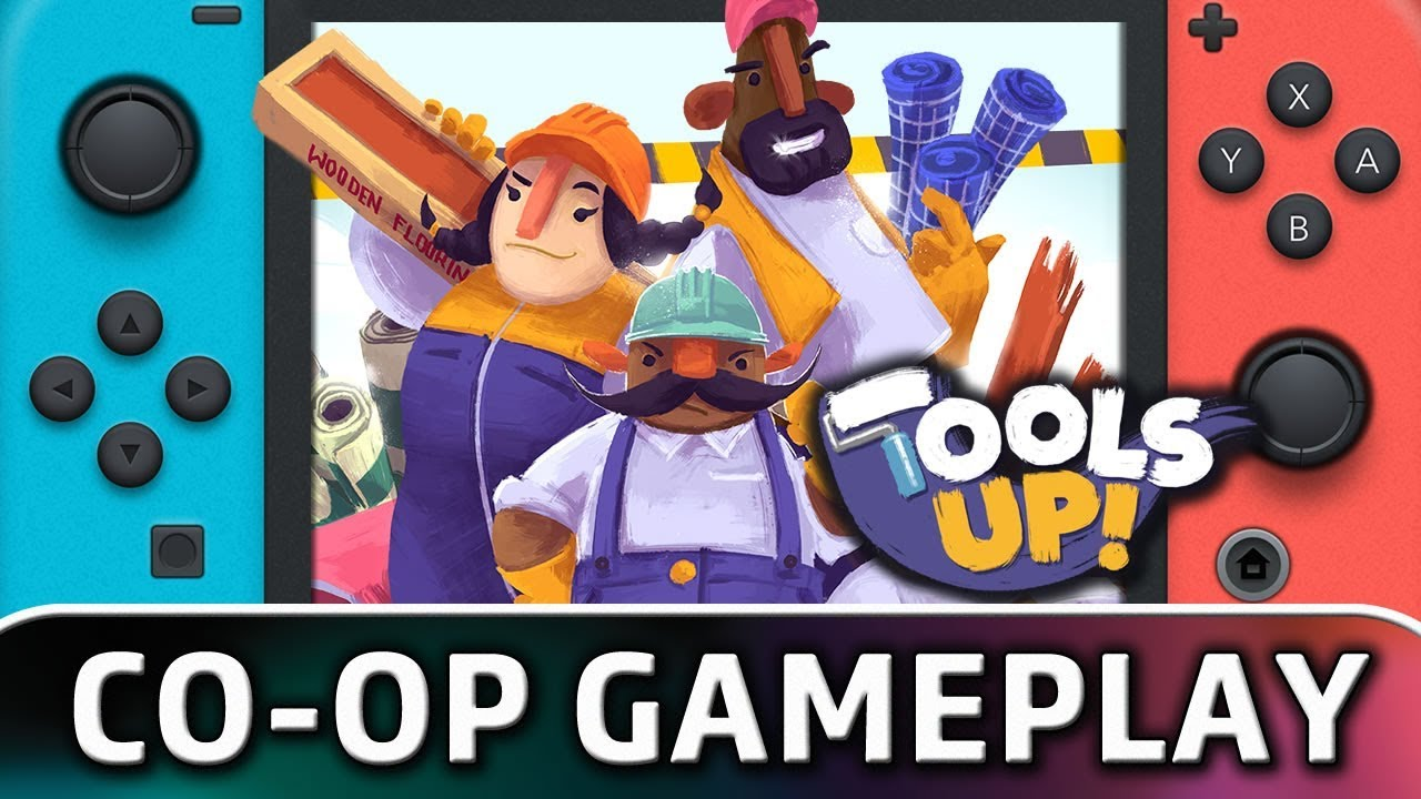 Tools Up! | First 10 Minutes in Co-op on Nintendo Switch