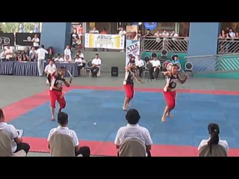 PHILIPPINE MERCHANT MARINE ACADEMY Traditional Philippine Arnis  Doble Baston Synchronize2